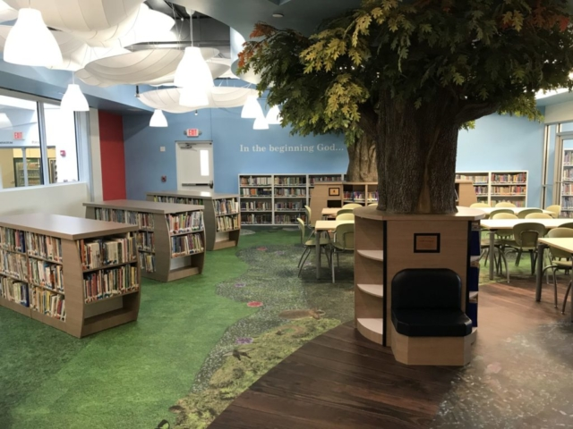 Westminster Academy Lower School Media Center